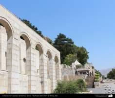 """Architettura islamica-Vista di """"Darvaze Qoran"""" (Porta del Corano),Shiraz-19"""
