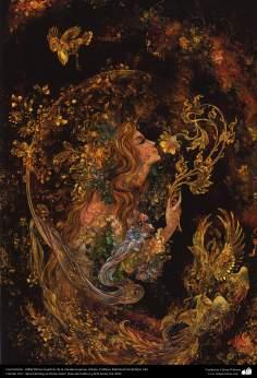 Исламское искусство - Шедевр персидской миниатюры - Мастер Махмуда Фаршчияна - Рост - 1983