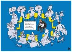 ヨーロッパにおける移行の危機(漫画)
