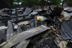 ミャンマーでのイスラム教の家の破壊