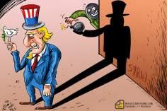 EEUU envía arma secreta a Siria (Caricatura)