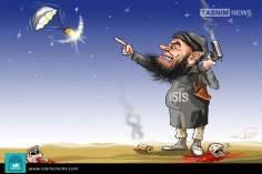Ид аль-Фитра как ИСИЛ (карикатура)