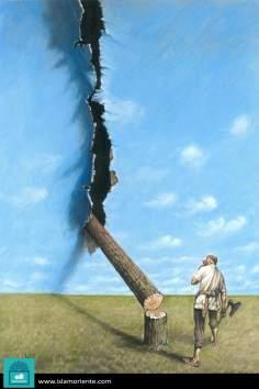 El último aliento (Caricatura)
