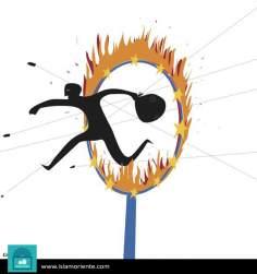 Caricatura - O circo do sol