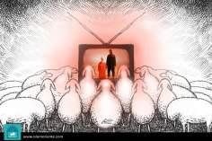 El nuevo fenómeno masivo (caricatura)