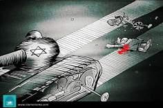 Переезд из Израиля (карикатура)
