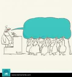 Вес риторики (карикатура)
