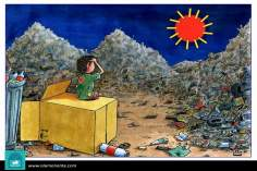 Солнце бедных (карикатура)