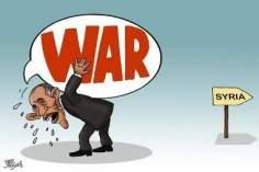 El fracaso de las políticas belicosas de Obama (caricatura)