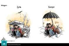 Encuentre las diferencias.. (Caricatura)