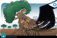 Erradicando la vida (Caricatura)