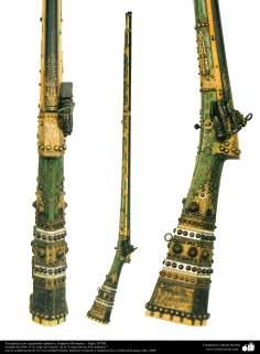 Flinten mit exquisiten Verschönerungen; Osmanisches Reich - 18. Jahrhundert - Islamische Kunst - Waffen und dekorierte Utensilien