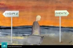 Caricatura - Esperança 1