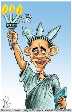 Estatua de la guerra - (Caricatura)