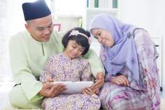 Muslim Woman and Family (2)