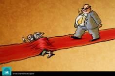 Caricatura - Sobre o tapete vermelho