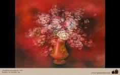 Fragancia de la alegría- Pintura Persa- Farshchian