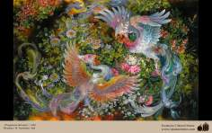 Fragancia del amor- Pintura Persa- Farshchian - 4