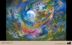 Parfüm Stimulans - persisches Gemälde - Farshchian - 3 - Miniaturen von Prof. M. Farshchian
