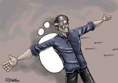 La libertad de expresión ... (Caricatura)