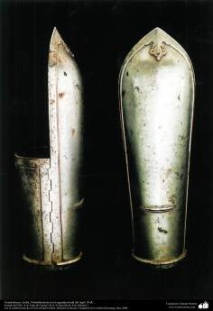 Armguards, India, probably in the second half of the 18th century AD.