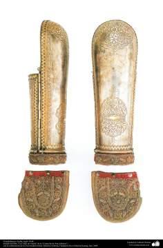 Guardabrazos, India, siglo 19 dC.