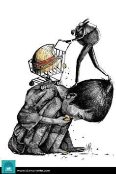 Плечо и голод (карикатура)