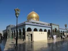 O Santuário da  Hazrat Zaynab (SA) na cidade de Damasco, capital da Síria