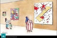 Caricatura - Ilusões de paz