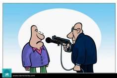 Informando (Caricatura)