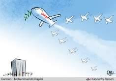 Irán, el embajador de Paz  (caricatura)