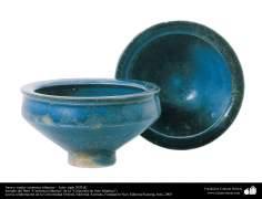 Jarra y vasija- cerámica islámica –  Irán- siglo XIII dC.
