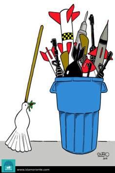 La guerra y la Paz (3) - Caricatura