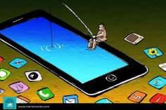 Современное рыболовство (карикатура)