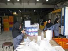 イスラム教の女性の仕事(工場)