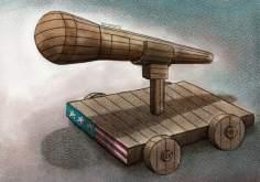 La verdad oculta en los diálogos de EE.UU. ( caricatura )