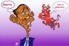 Caricatura: As tentações de Netanyahu...