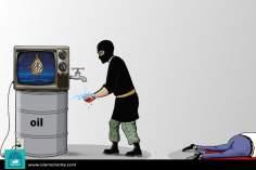 Caricatura - Lavando as mãos