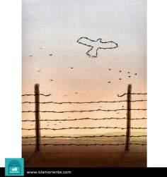 Libertad (3) (caricatura)