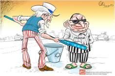 Caricatura - Liberdade de Mubarak