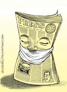 Libertad de prensa (Caricatura)