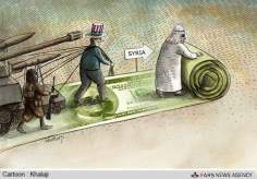 シリアを攻撃するための準備! (漫画)