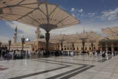 La foto del giorno-La tomba di profeta dell'Islam Muhammad Mostafa(P)