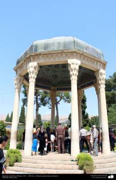 Mausoleum of Hafez-e Shirazi (1325 -1389 AD) - The famous Persian Sufi mystic poet - Hafezieh, Shiraz (5)