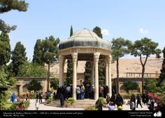 Mausoleo de Hafez-e Shirazí (1325 – 1389 dC.), el famoso poeta místico sufí persa - 27