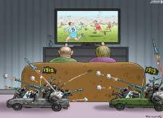 Inzwischen in Irak (Caricature)