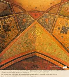 Miniature on Persian Mural - Chehel Sutun (Palace of the 40 pilllars in Isafahan) - 1
