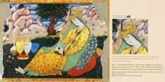 Miniatura en mural persa de Chehel Sotun (palacio de los Cuarenta Pilares) de Isfahán - 6