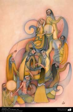 Arte islámico-Miniatura persa, Devotos