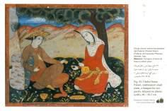 イスファハン市における四十柱宮殿のミニチュア ・壁画  (1)